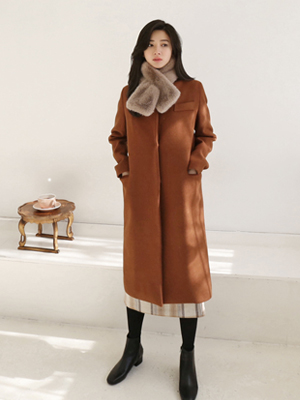 Naron wool呢子大衣