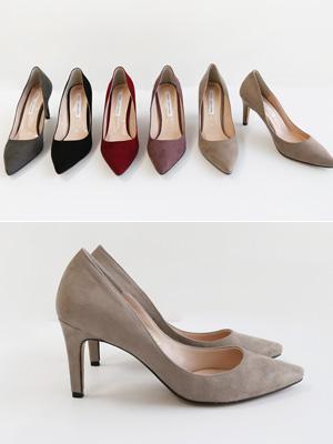 Kumai翻译皮草鞋跟(8cm)
