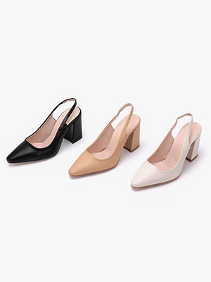 Merry染色腿皮鞋(9.5cm)