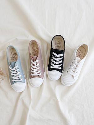 Diderin胶底帆布鞋(3cm)