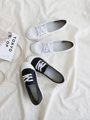 Felton胶底帆布鞋(3cm)