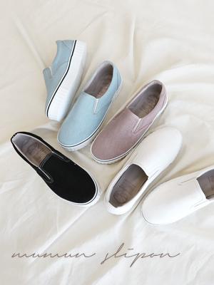Mermon松紧帆布鞋(3cm)