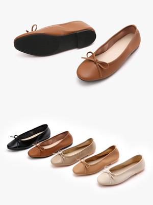 Saran蝴蝶结平底鞋(1cm)