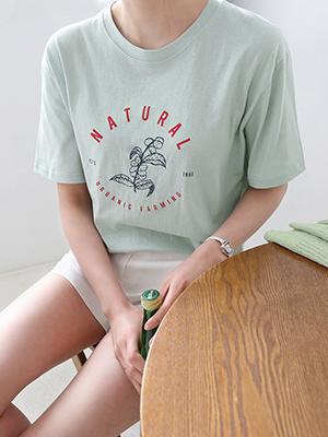 农民圆领T恤衫
