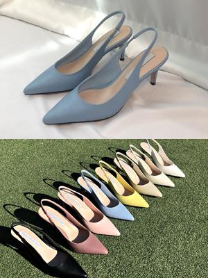 圆角染色腿鞋(8.5cm)