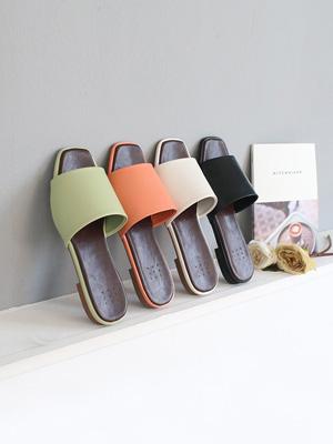 静音简单拖鞋(2cm)