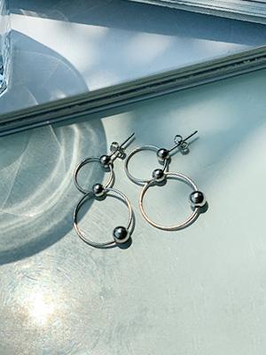 新月银耳环(银色92.5)