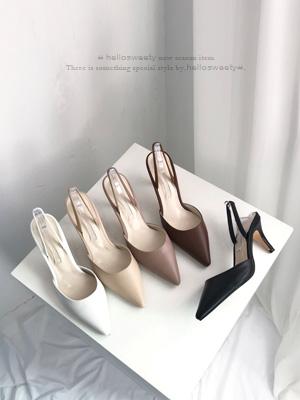 Revor露脚后跟鞋(8cm)