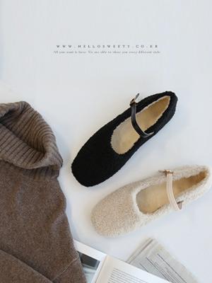 玛丽玛丽超薄头发平底鞋(1.5厘米)